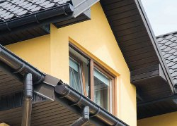 Siding – podbití střech
